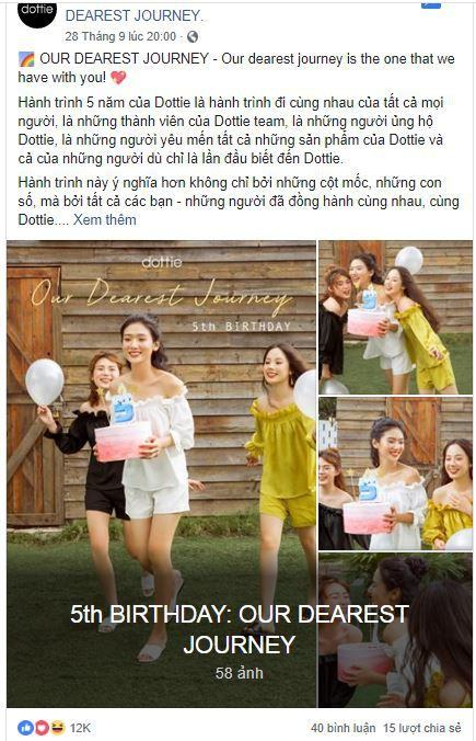 d19 phan tich kinh doanh fanpage Dottie - Phân tích shop thời trang online Dottie trên Fanpage Facebook