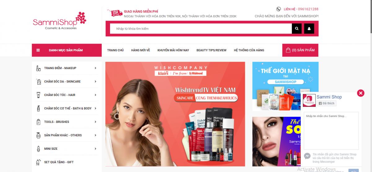 web - Kinh nghiệm kinh doanh mỹ phẩm- Bài học kinh doanh từ đối thủ lớn