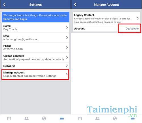 xoa tai khoan facebok tren dien thoai 11 - Hướng dẫn cách xóa tài khoản Facebook tạm thời và vĩnh viễn trên điện thoại & máy tính