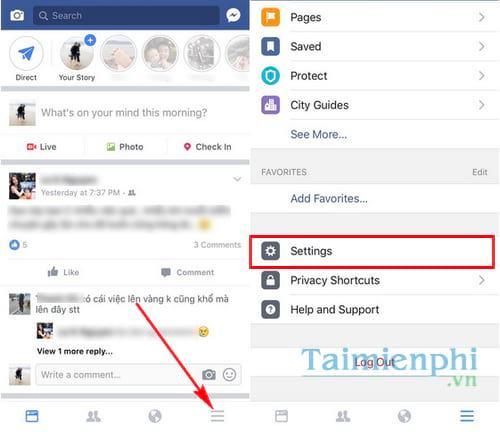 xoa tai khoan facebok tren dien thoai 9 - Hướng dẫn cách xóa tài khoản Facebook tạm thời và vĩnh viễn trên điện thoại & máy tính