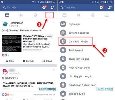 xoa tai khoan facebook tren dien thoai android - Hướng dẫn cách xóa tài khoản Facebook tạm thời và vĩnh viễn trên điện thoại & máy tính