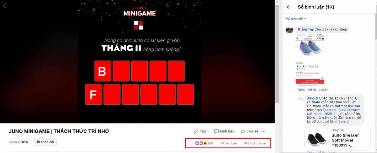 Minigame ô chữ - [Tổng hợp] 20 Minigame cho chị em bán hàng mùa sale cuối năm 2018