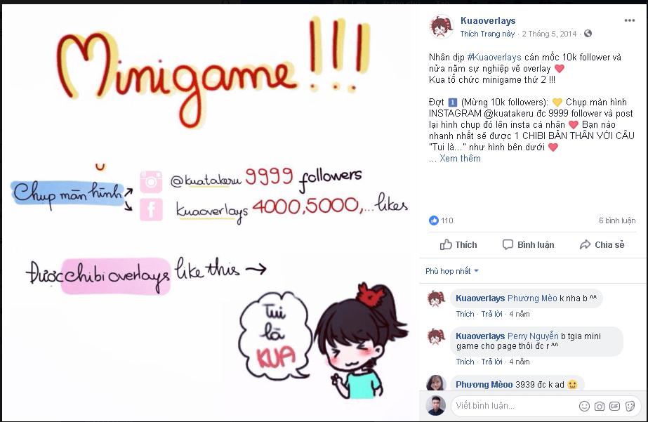 Minigame chụp mốc Like - [Tổng hợp] 20 Minigame cho chị em bán hàng mùa sale cuối năm 2018