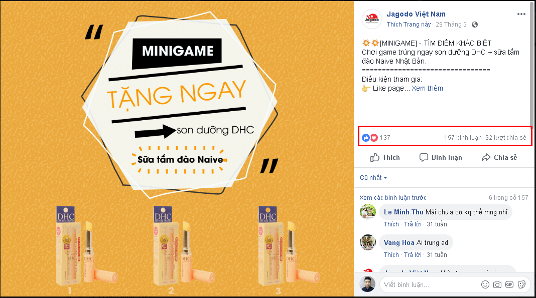 Minigame tìm điểm khác biệt - [Tổng hợp] 20 Minigame cho chị em bán hàng mùa sale cuối năm 2018