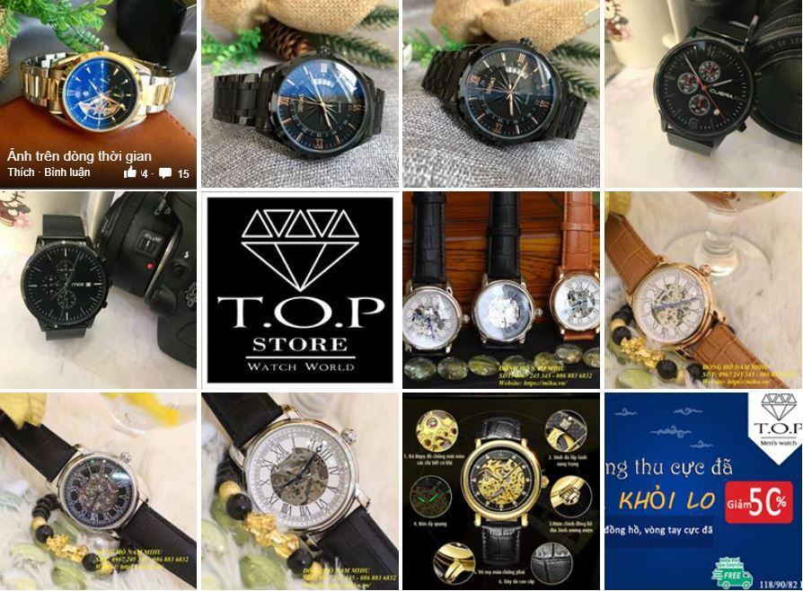 a14 kinh doanh dong ho - Tìm hiểu và chia sẽ tất tần tật kinh nghiệm về kinh doanh đồng hồ online của các Shop nổi tiếng trên Facebook (phần 1)