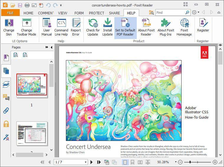 a5 review phan mem foxit reader - Phần mềm đọc file , tài liệu PDF siêu tốc - Foxit Reader