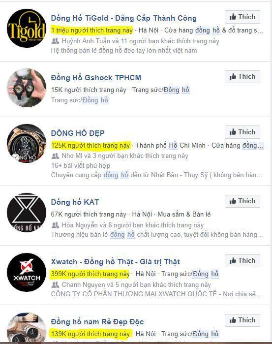 a6 kinh doanh dong ho - Tìm hiểu và chia sẽ tất tần tật kinh nghiệm về kinh doanh đồng hồ online của các Shop nổi tiếng trên Facebook (phần 1)