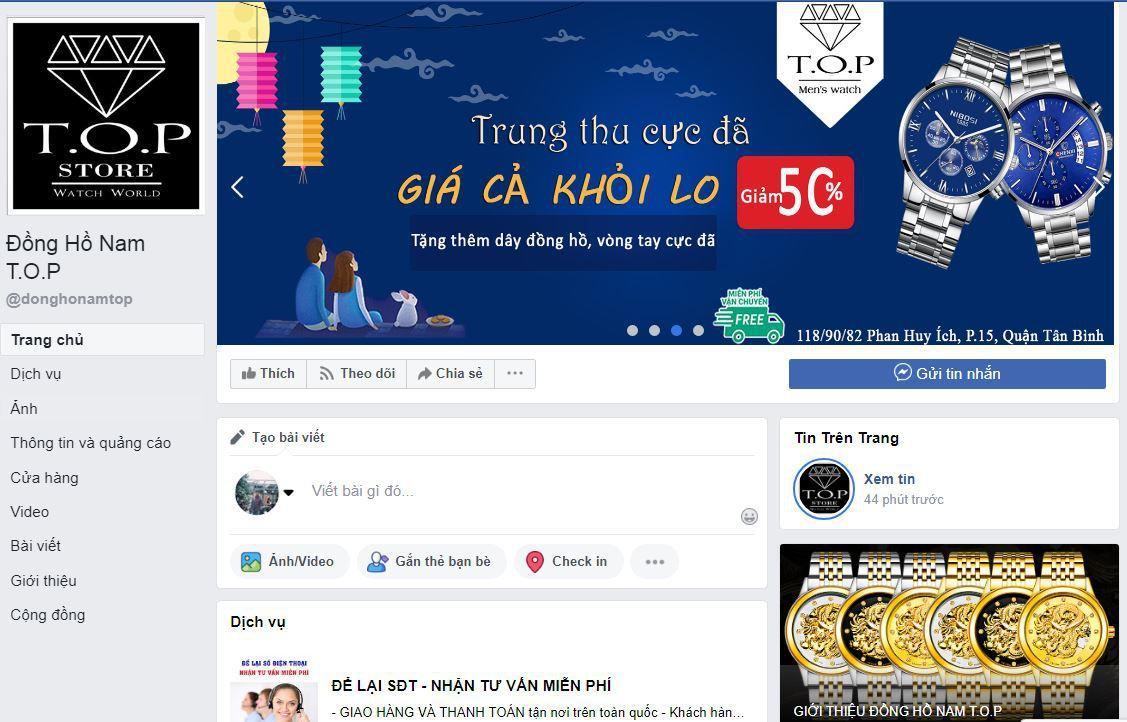 a9 kinh doanh dong ho - Tìm hiểu và chia sẽ tất tần tật kinh nghiệm về kinh doanh đồng hồ online của các Shop nổi tiếng trên Facebook (phần 1)