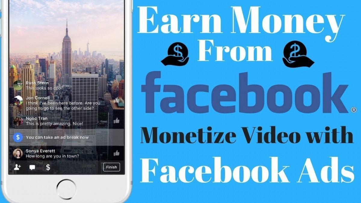 adbreak - Kiếm tiền từ Video Facebook (New 2018) - Facebook Adbreak