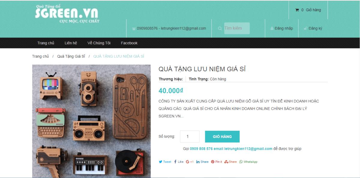 bán hàng trên trang thương mại điện tử - Kinh doanh lĩnh vực quà tặng lưu niệm – Kinh nghiệm kinh doanh Online
