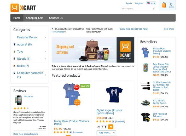 b2 review phan mem x cart - Phần mềm quản lý phân phối hàng trực tuyến X-Cart - Phần mềm thương mại điện tử hàng đầu