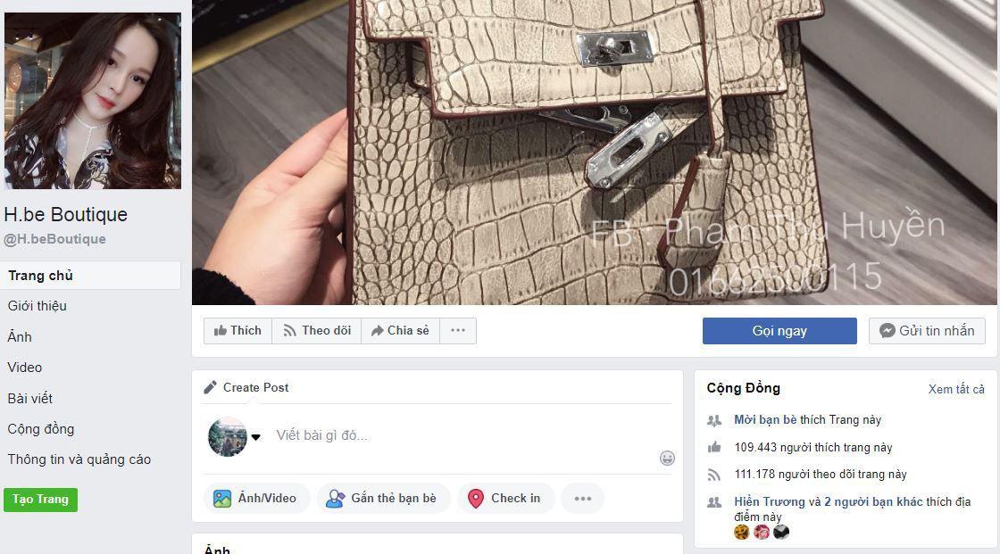 c2 huyen be ban hang online - Tìm hiểu cách bán hàng thời trang trên Facebook cá nhân của Hot Girl Huyền Bé