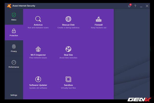c5 review phan mem diet virus Avast Antivirus - Phần mềm diệt Virus hàng đầu thế giới Avast Antivirus