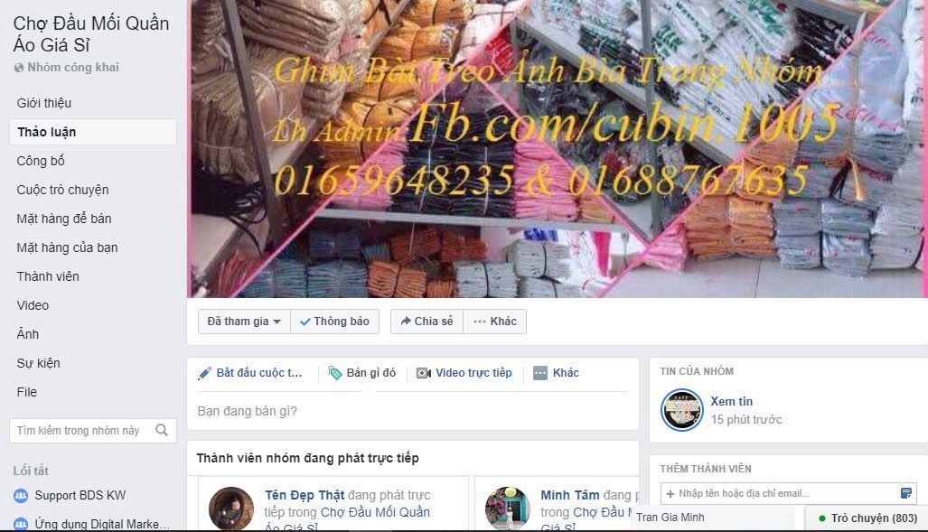 chợ quần áo giá sỉ online - Chia sẻ nơi tìm nguồn hàng Trung Quốc uy tín và kinh nghiệm kinh doanh Facebook hiệu quả
