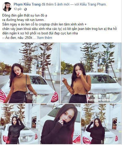 d3 trang me ban hang online - Tìm hiểu cách bán hàng trên Facebook của Hot Girl Trang Mễ