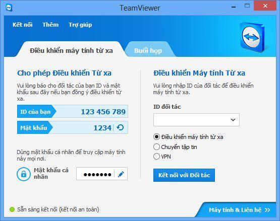 d6 review phan mem teamviewer - TeamViewer - Phần mềm kết nối máy tính từ xa cực kỳ phổ biến hiện nay