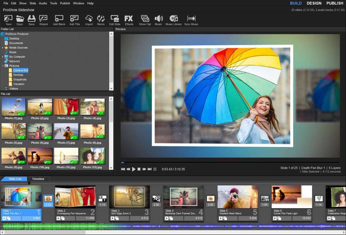 e1 review phan mem proshow producer - Phần mềm tạo Video đơn giản cực kỳ thông dụng - ProShow Producer