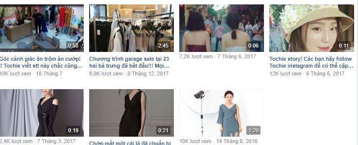 e16 phan tich kinh doanh fanpage Tochie - Phân tích shop thời trang online Tochietrên Fanpage Facebook