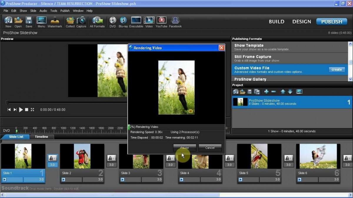 e5 review phan mem proshow producer - Phần mềm tạo Video đơn giản cực kỳ thông dụng - ProShow Producer