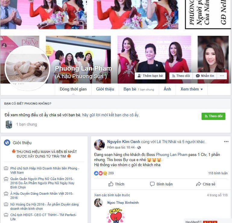 f1 a hau phuong suri ban hang online - Tìm hiểu cách bán hàng online trên Facebook của Á hậu Phương Suri