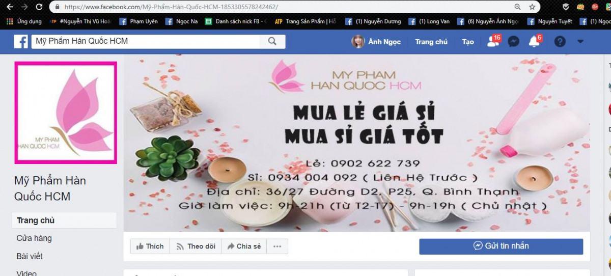 mỹ phẩm hàng quốc - Cách sử dụng All-in-One để bán hàng trên Fanpage hiệu quả
