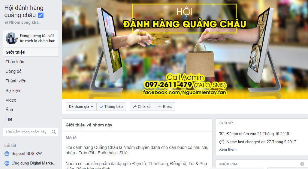 nhóm nguồn hàng quảng châu - Chia sẻ nơi tìm nguồn hàng Trung Quốc uy tín và kinh nghiệm kinh doanh Facebook hiệu quả
