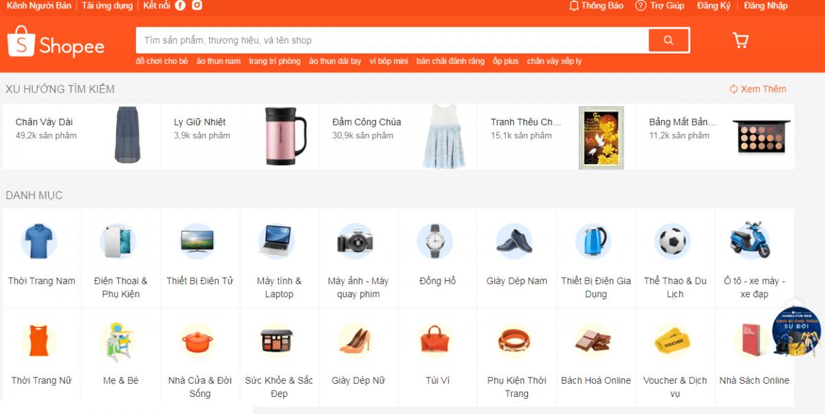 shopee 1 - Hướng dẫn những bước đầu cơ bản để bán hàng trên Shopee một cách hiệu quả nhất!