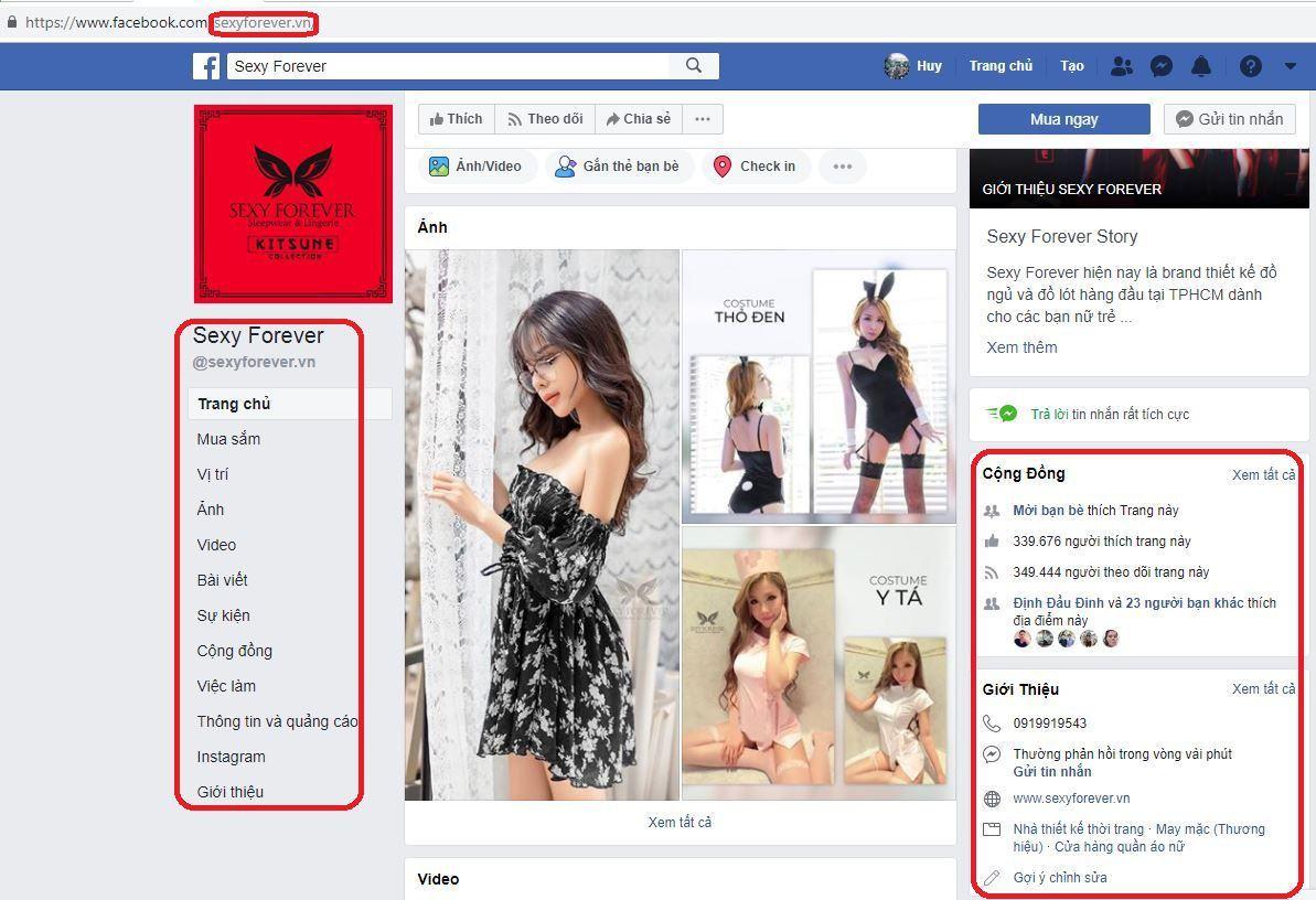 x12 kinh doanh do lot noi y phan 1 - Phân tích và học hỏi các Fanpage bán đồ lót , nội y và đồ bơi nổi tiếng trên Facebook (phần 1 )