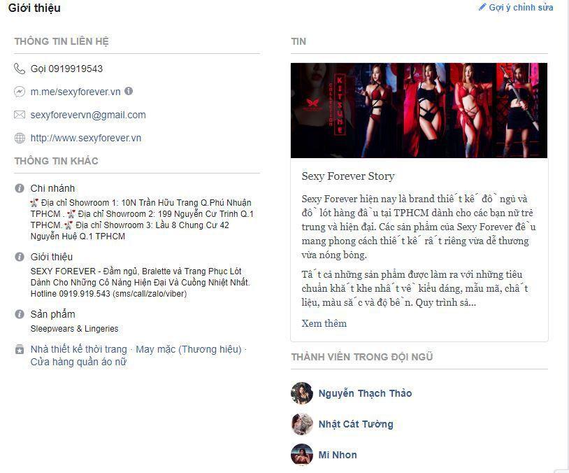 x14 kinh doanh do lot noi y phan 1 - Phân tích và học hỏi các Fanpage bán đồ lót , nội y và đồ bơi nổi tiếng trên Facebook (phần 1 )