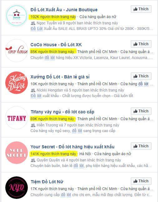 x7 kinh doanh do lot noi y phan 1 - Phân tích và học hỏi các Fanpage bán đồ lót , nội y và đồ bơi nổi tiếng trên Facebook (phần 1 )