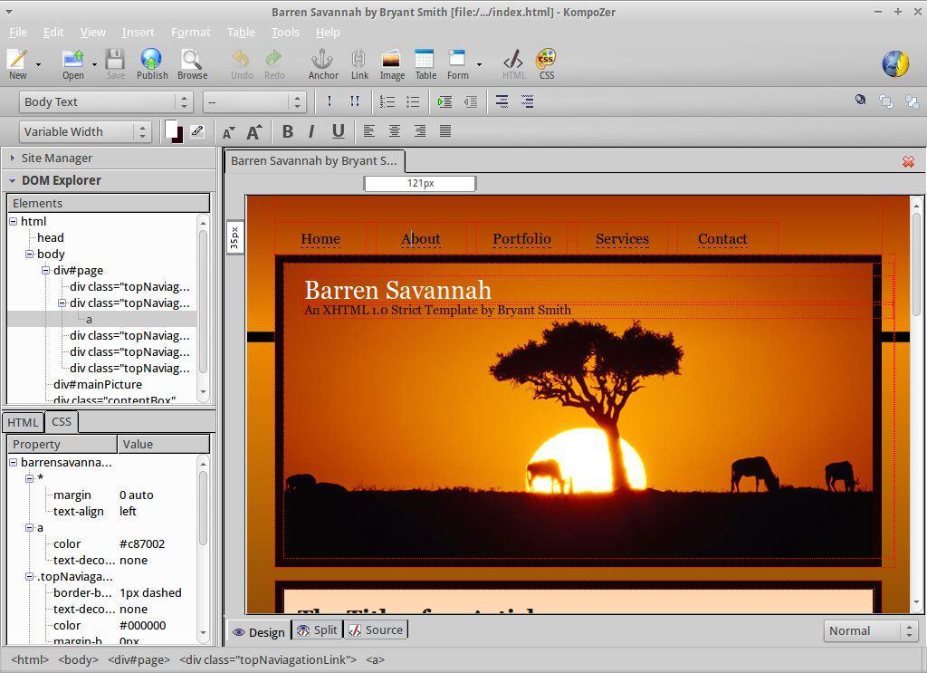 a3 review phan mem kompozer - KompoZer - Phần mềm thiết kế và quản lý nội dung website miễn phí được yêu thích nhất hiện nay