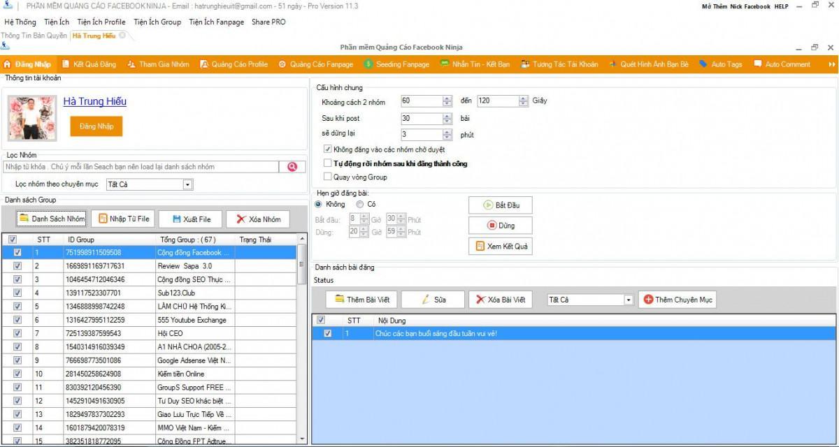 a6 review phan mem facebook ninja - Phần mềm hỗ trợ quảng cáo bán hàng trên Facebook - Facebook Ninja