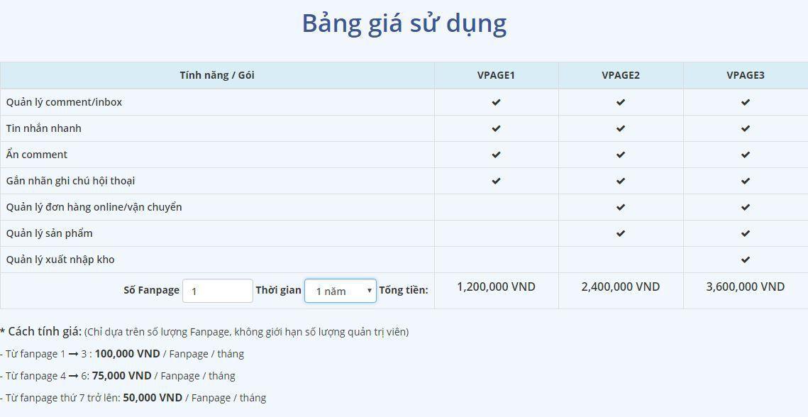 b6 review phan mem vpage  - Phần mềm quản lý bán hàng cực hiệu quả trên Facebook - VPAGE của Nhanh.vn