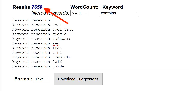 Keyword Snatcher - Gợi ý