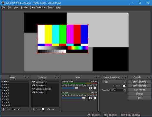 ứng dụng quay màn hình máy tính OBS Studio
