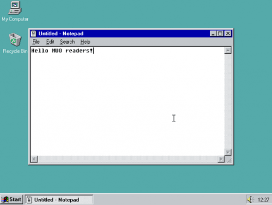 bản demo 95 cửa sổ