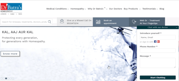 dễ dàng điều hướng trang web