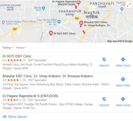 google trang kinh doanh của tôi