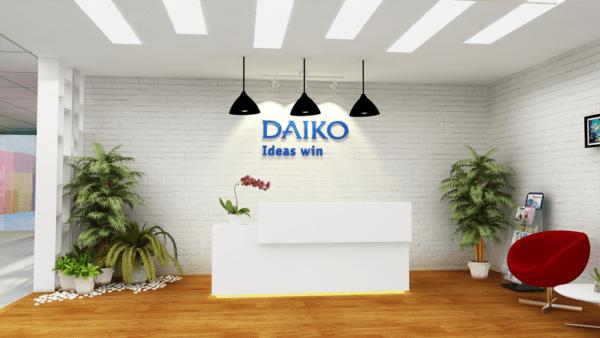 Kết cấu hình vuông cho DAIKO Việt Nam