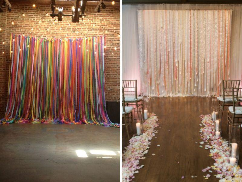 Ý tưởng trang trí nhà bằng dây ruy băng
