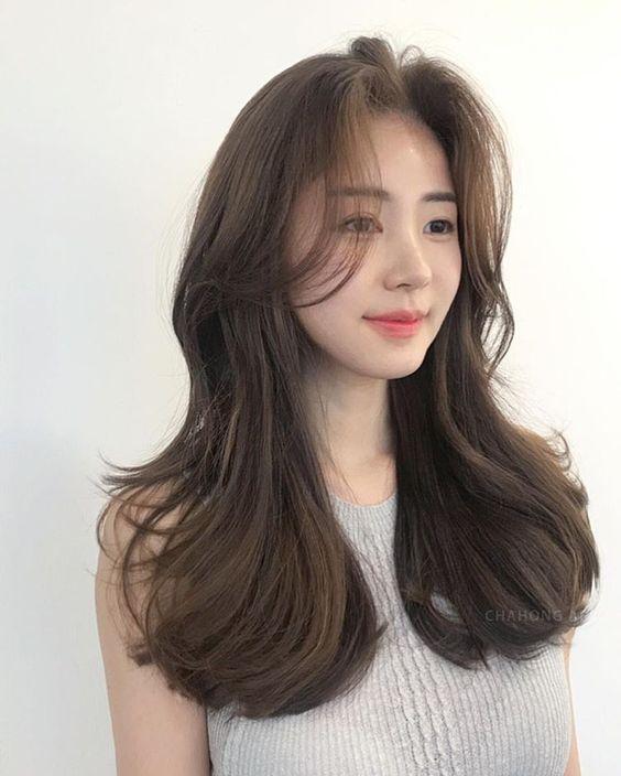Kết quả hình ảnh cho tóc lửng thẳng