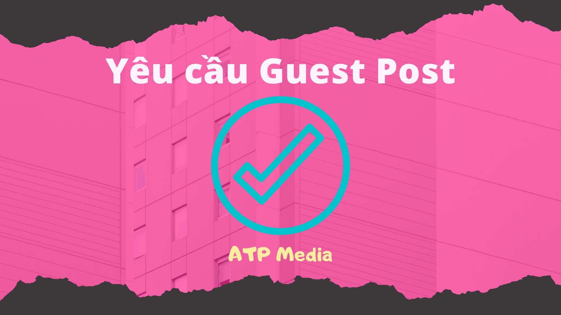 Yêu cầu Guest Post