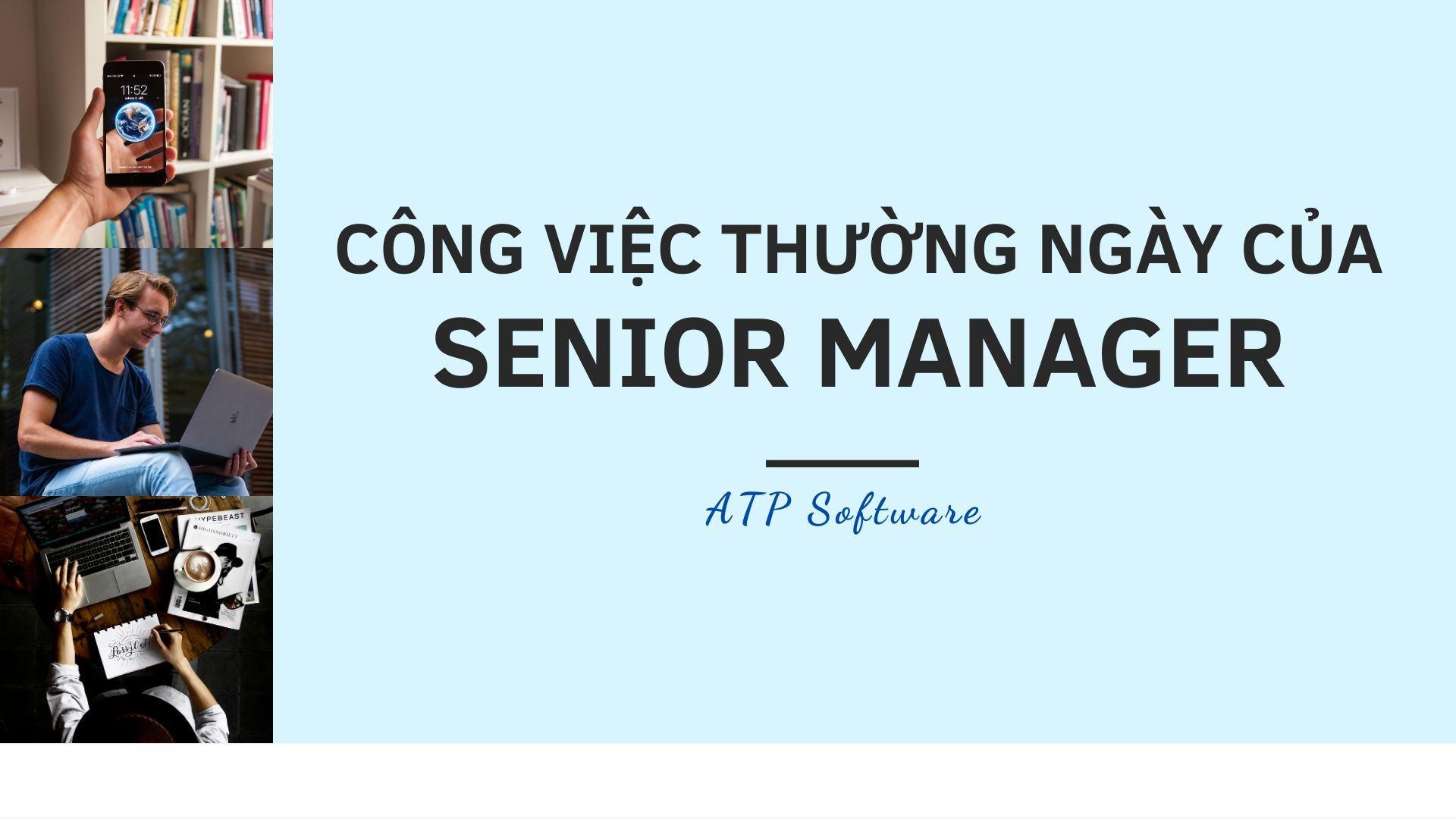 Công việc của Senior Manager