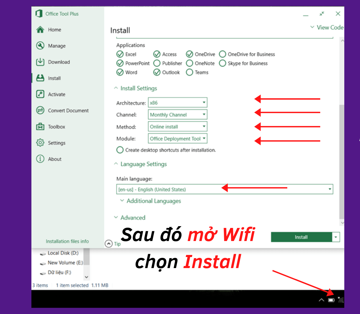 Cài đặt Microsoft Office (5)