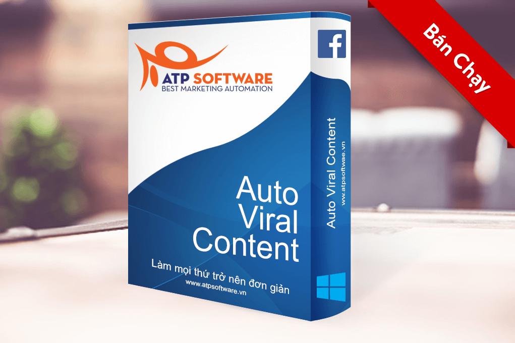 Phần mềm bán hàng facebook auto viral content